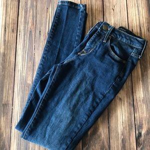 Mossimo High Rise Skinny Jean Sz 0